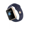 Apple Watch 2 42mm Gold Alu Case with Midnight Blue Sport Band  MQ152ZD/A