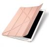 """AppleKing DUX DUCIS borító alvás funkcióval és állvánnyal Apple iPad 12.9"""" - rózaszín - arany"""