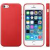 AppleKing Elegáns tok Apple iPhone 5 / 5S / SE - piros