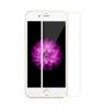 AppleKing Extra ellenálló edzett üveg (Tempered Glass) - első részre - Apple iPhone 6 / 6S - fehér vékony keret - 0,3mm