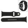 AppleKing Hosszabb sport gumiszalag - Apple Watch 42mm - fekete