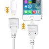AppleKing Kiterjesztési kábel lightning Male / Female - iPhone / iPad / iPod - 1 m - fehér