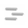AppleKing Oldalsó gombok pótalkatrész (Hangerő + Bekapcsolás / kikapcsolás + némítás) -Apple iPad Air 2 - szürke