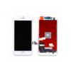 AppleKing Pót LCD kijelző érintős képernyővel és kerettel Apple iPhone 8 készülékhez - fehér