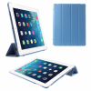AppleKing Smart Cover védő tok állvánnyal Apple iPad 2. / 3. / 4. gen. - világoskék