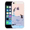 AppleKing Tok iPhone 5 / 5S / SE készülékre - művészi kivitelezés - pingvinek
