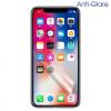 AppleKing Védőfólia Apple iPhone X készülékre - anti-fényvisszaverő (matt)