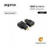 Approx APPC19 HDMI to micro HDMI adapter