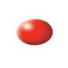 Aqua luminous red silk makett festék Revell 36332