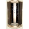 Aqualife Aqualife Opal 508 C Fekete zuhanykabin 90x90x205 cm Tetõ nélkül