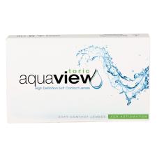 AquaView Toric 3 db kontaktlencse