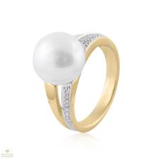 Arany gyűrű 54-es méret - 521062/54_2I gyűrű