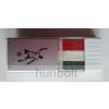 Arcfestő stift, nemzeti színű - széles