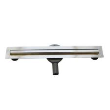 Arezzo 700 mm-es keskeny rozsdamentes acél folyóka AR-700K fürdőszoba kiegészítő