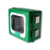 Arky- Hollandia Arky kültéri  fűtött hang riasztásos defibrillátor szekrény (Kültéri 100% por- és vízálló)