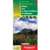 Arlberg - Lech - St. Anton - Verwallgruppe turistatérkép - f&b WK 5504