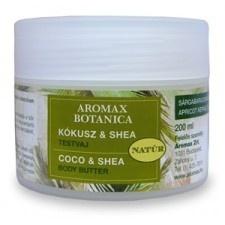 Aromax Botanica Kókusz-Shea testvaj 200 ml bőrápoló szer