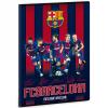 Ars Una Barcelona négyzethálós füzet A/4 - csapat