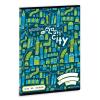 Ars Una Elasti City 1. osztályos vonalas füzet A/5