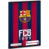 Ars Una FC Barcelona vonalas füzet A/5 gránátvörös-kék 4. osztály