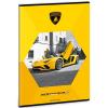 Ars Una Lamborghini négyzethálós füzet sárga A/4