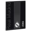 Ars Una Real Madrid fekete kockás füzet A/5-ös méret