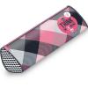 Ars Una Think-Pink kockás keskeny hengeres tolltartó