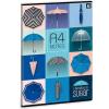 Ars Una Umbrella füzet négyzethálós A/4