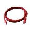 Art összekötő UTP 5e 0.5m piros oem