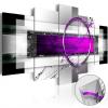 Artgeist Akrilüveg kép - Violet Rim [Glass]