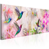 Artgeist Kép - Colourful Hummingbirds (1 Part) Narrow