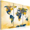 Artgeist Kép - Four corners of the World - triptych