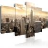 Artgeist Kép - New York and sunrise