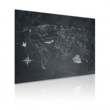 Artgeist Kép - Utazás a világ körül tapéta, díszléc és más dekoráció
