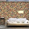ArtGeist sp. z o o. XXL Fotótapéta - Rainbow Mosaic