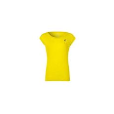 Asics Rövid ujjú sport póló Asics Layering Top Hölgy Sárga Asics RÖVID UJJÚ FELSŐ