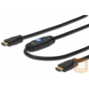ASM ASSMANN HDMI kábel High Speed csatlakozó, erősítővel, A M/M 40,0m