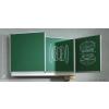 ASS Zöld, oldalszárnyas falitábla, választható méretben