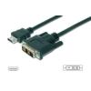 Assmann HDMI 1.3 Standard Adapter Cable HDMI A M (plug)/DVI-D (18+1) M (plug) 2m