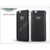 Aston Martin Apple iPhone 7 Plus/iPhone 8 Plus valódi bőr hátlap - Aston Martin Racing - black