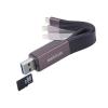Astrum AA230 2in1 8pin lightning - USB 3.0 OTG adatkábel beépített MicroSD kártyaolvasóval, MFI