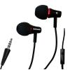 Astrum Headset mikrofonnal fémes prémium kivitelben fekete - piros színben RAGA MOBI