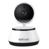 Astrum IP100 fehér forgatható biztonsági IP kamera 1280X720P HD, WIFI, MicroSD, Mikrofon