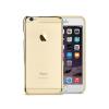 Astrum MC220 keretes átlátszó, alul felül dekorcsíkos Apple iPhone 6 Plus / 6S Plus tok arany