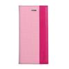 Astrum MC540 DIARY mágneszáras Samsung G925F Galaxy S6 EDGE könyvtok pink-sötétpink