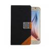Astrum MC630 MATTE BOOK mágneszáras Samsung G920F Galaxy S6 könyvtok fekete