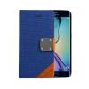 Astrum MC640 MATTE BOOK mágneszáras Samsung G925F Galaxy S6 EDGE könyvtok kék