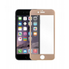 Astrum PG370 Apple iPhone 6 Plus fémkeretes üvegfólia arany 9H 0.33MM