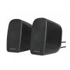 Astrum SU170 fekete 2.0 csatornás 3,5MM multimédia hangszóró USB-s áramellátással, hangerősz