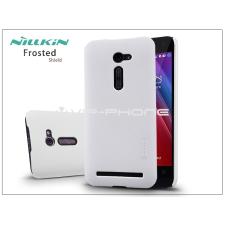 Asus Asus ZenFone 2 (ZE500CL) hátlap képernyővédő fóliával - Nillkin Frosted Shield - fehér tok és táska